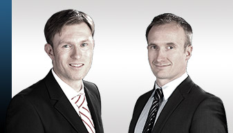 Die Rechtsanwälte Dr. Timm NIssen und Joachim Beuck